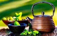 Nabídka čajů a pokrmů
